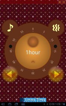 KumaTimer (Bear's Face Timer)
