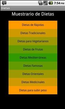 Dietas para Perdida de Peso