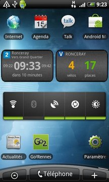 Go2 Rennes (bus, vélo, métro)