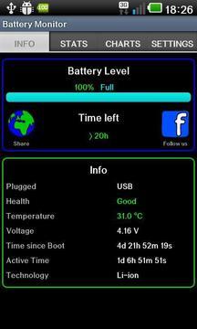 电池监测器插件