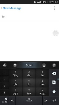Dutch for GO Keyboard - Emoji