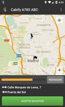 App para conductores Maxi M.