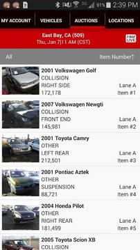 IAA Buyer Salvage Auctions