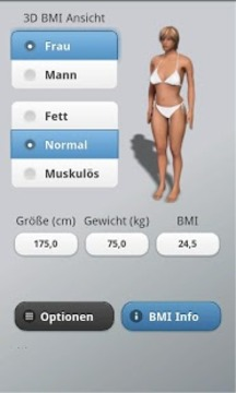 BMI 3D - free BMI Calculator