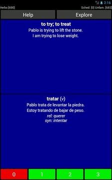 Spanish Basic Vocabulary