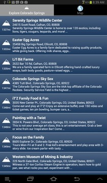 科罗拉多斯普林斯的旅游信息