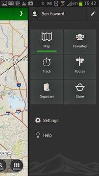 ViewRanger GPS 导航仪 – 路线和地图