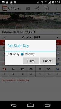 US Calendar Plus