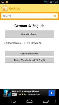 dict.cc+双语词典 免费版