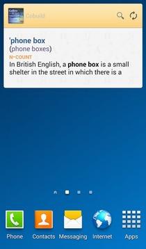 科林斯英语词汇词典