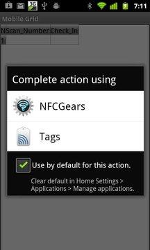 NFC Gears