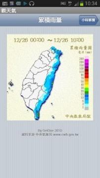 台湾观天气