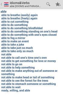 美国成语和动词短语