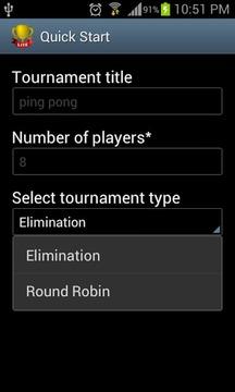 Quick Tournament Maker Lite