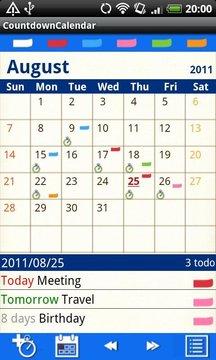 倒计时日历