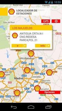 Shell, Estaciones de Servicio.