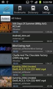 MePlayer Movie电影英语 Lite视频播放器