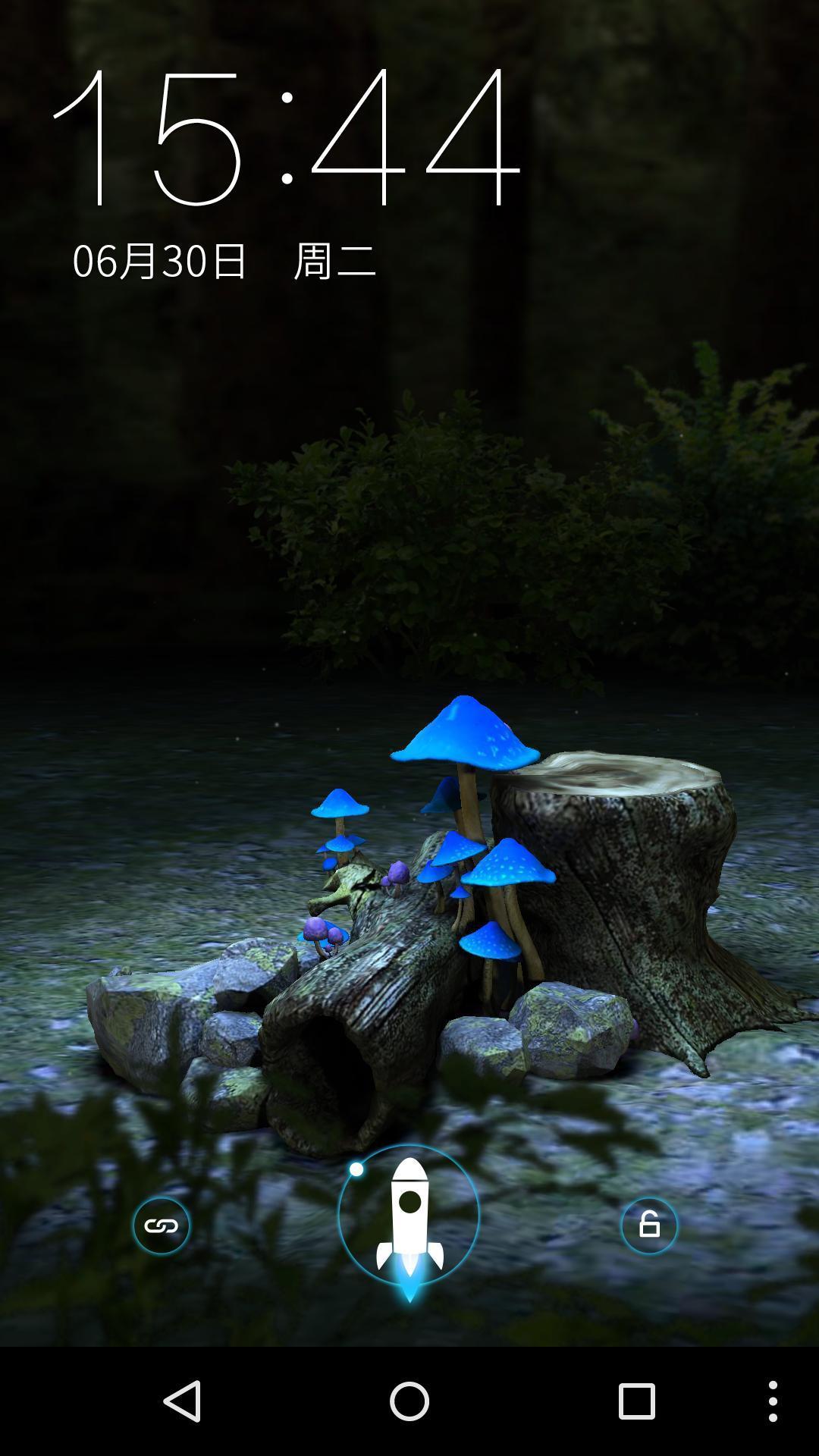 3D森林的梦 梦象动态壁纸下载