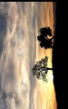 黄昏的天空动态壁纸