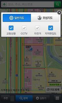 Naver的地图