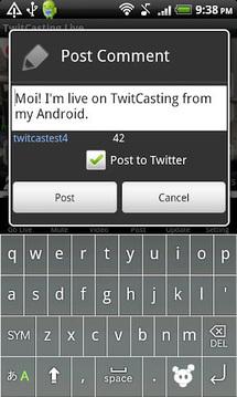 TwitCasting Live - (Free)