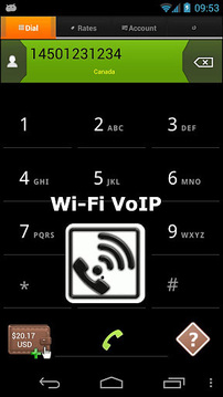 Wi-FI VoIP:拨打 VoIP电话