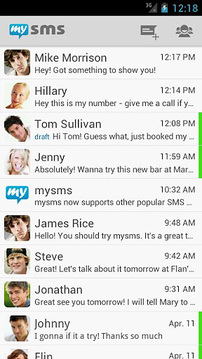 mysms - Text anywhere