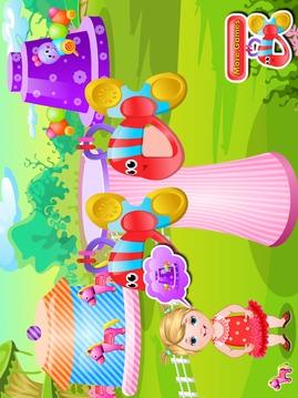 婴儿护理女孩游戏