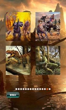 恐龙拼图 Dinosaurs Puzzle