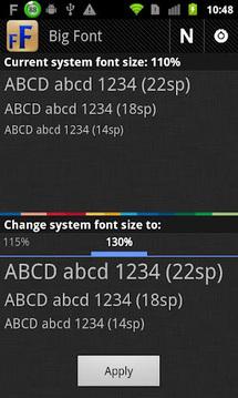 改变系统字体大小