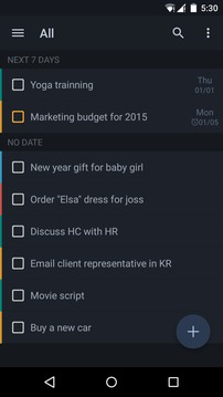GTasks日程管理