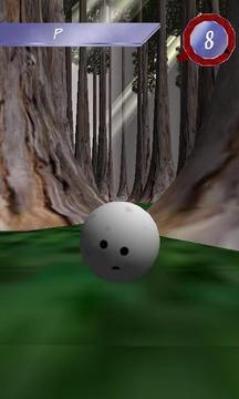 3D直线保龄球