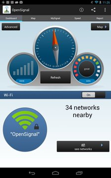 OpenSignal - 3G 4G 无线地图