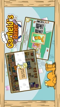加菲猫的餐厅