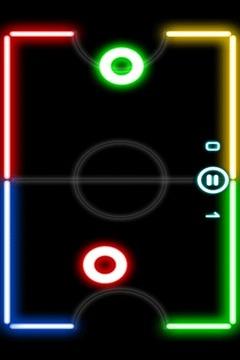 炫光曲棍球 Glow Hockey