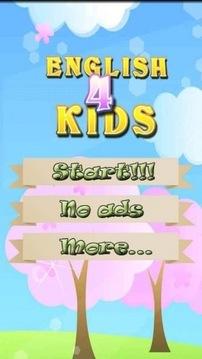 儿童英语词汇