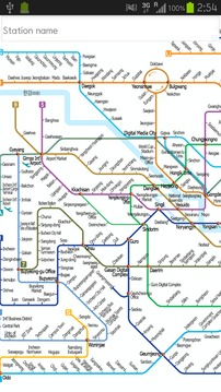 韩国地铁导航