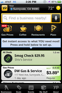 YP Yellow Pages  Gas Prices