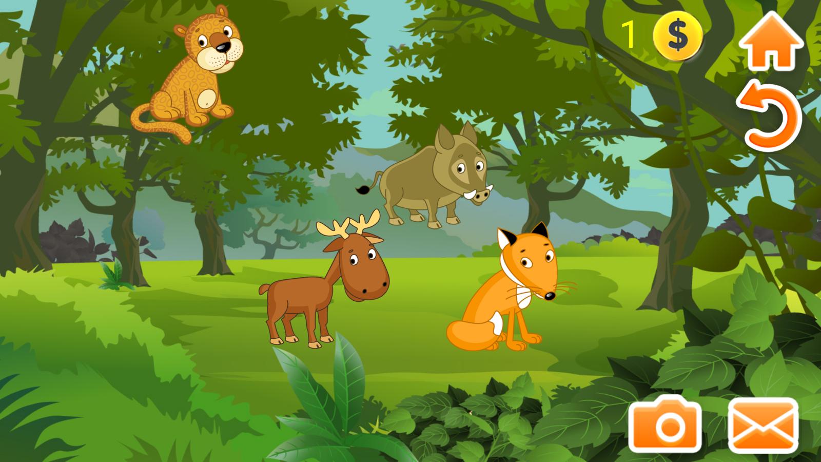 儿童益智游戏动物下载