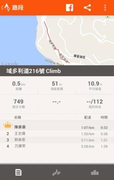 自行车路线跟踪