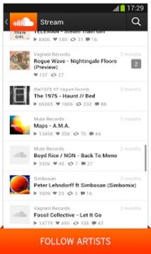 语音分享SoundCloud