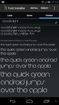手机字体安装器