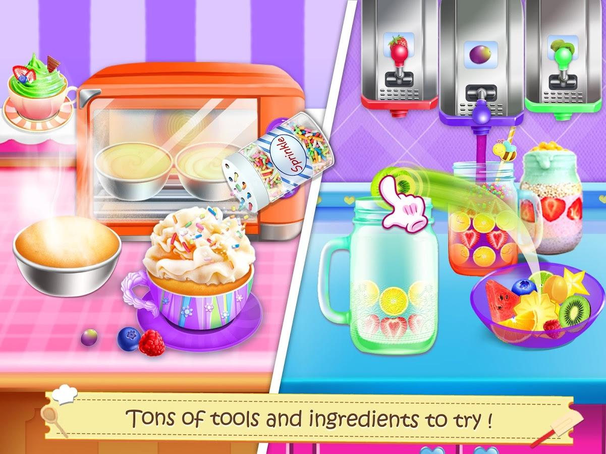 现在,我按照食谱上的步骤去烹饪也能够轻松的制作那些美味的甜点啦!