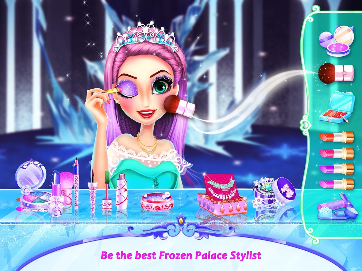 冰雪公主换装游戏