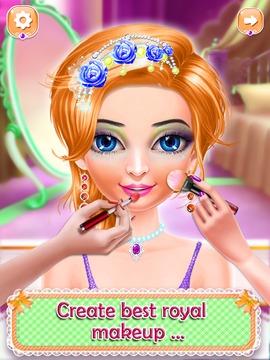 欢迎印度新娘公主沙龙:时尚娃娃沙龙:准备好婚礼!