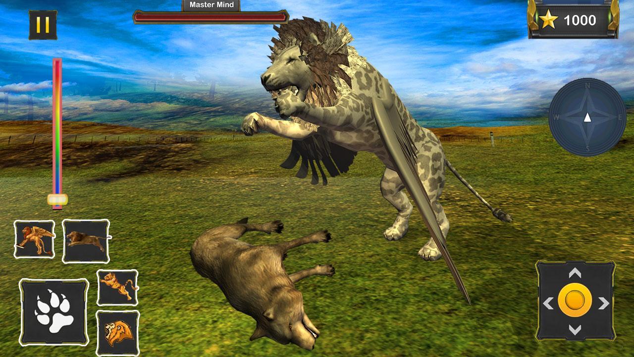 游戏分类 3d飞行狮子野生动物模拟器2018年下载