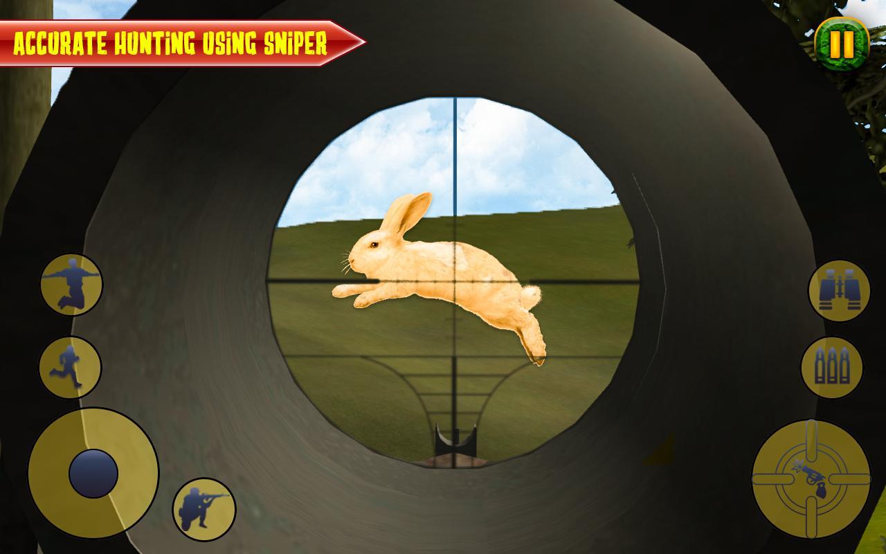 接受致命的森林俄罗斯狩猎冒险模拟挑战,并执行最终的狩猎3d动物狩猎