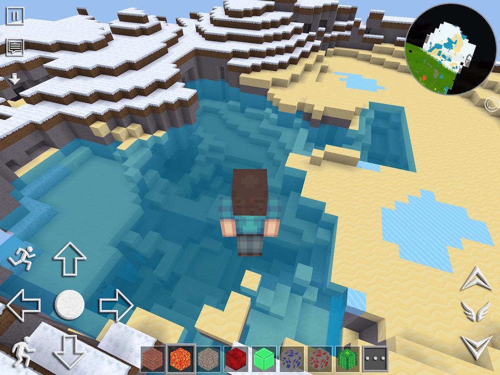 《像素世界 overcraft》是一款和经典游戏《minecraft》相似的像素沙