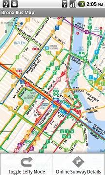 纽约市公交地铁地图