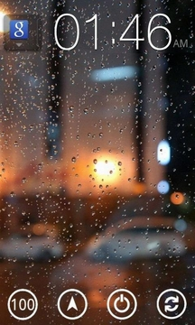 小雨滴动态桌面